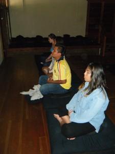 Mindful sitting