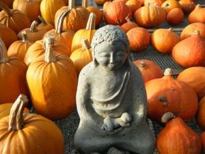 Pumpkin madonna