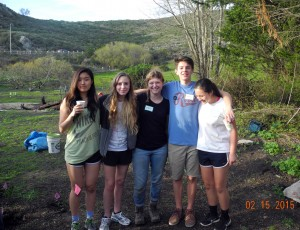 UHS volunteers - Arbor Day